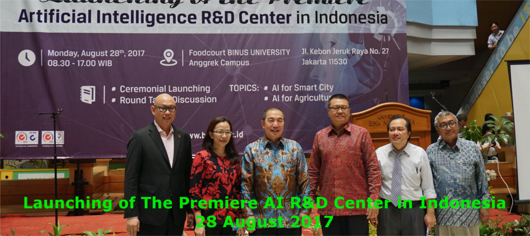 Launching of The Premiere AI R&D in Indonesia