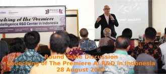 Round Table Discussion, Launching of The Premiere AI R&D Center in Indonesia