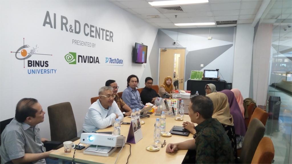 Universitas Islam Indonesia Visitation to AI R&D Center