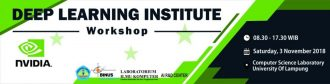 (Event Coverage) NVIDIA DLI Ambassador Workshop, December 12th, 2017, Mulawarman University