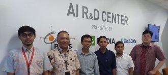 AI R&D Center Visitation to LAPAN Remote Sensing Earth Station Parepare