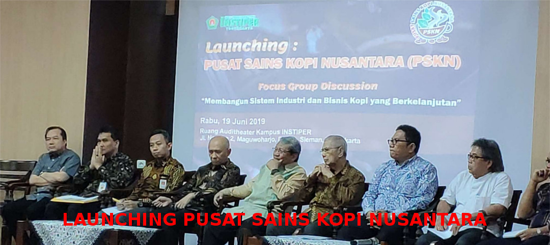 Launching Pusat Sains Kopi Nusantara (PSKN)