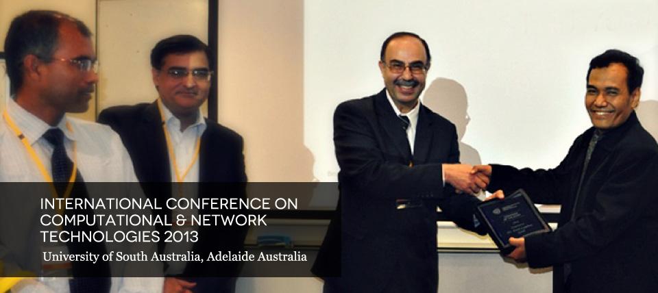 Keynote Speaker in ICCNNT 2013