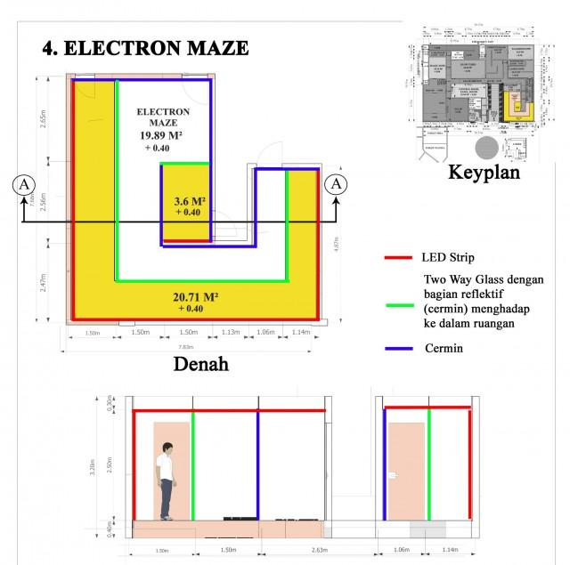 electron maze paper