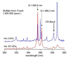 Quantitative and Sensitive Analysis of CN Molecules Using Laser Induced Low Pressure Helium Plasma