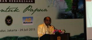 Pemaparan dari Laksda TNI(Purn.) Freddy Numberi
