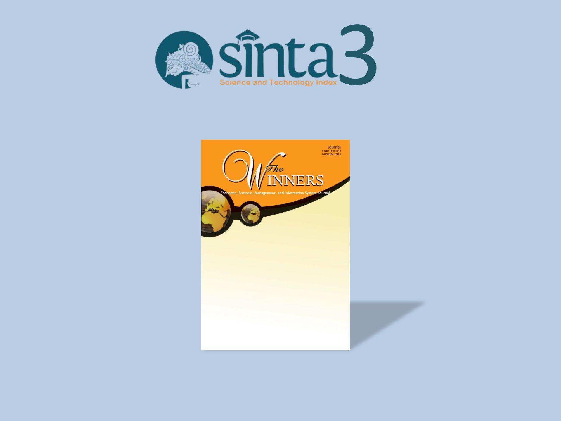 Binus Journals in SINTA 3
